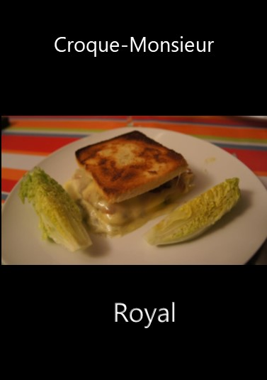Croque-Monsieur Royal (Express)