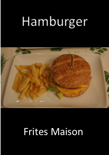 Hamburger Frites Maison (Tutoriel)
